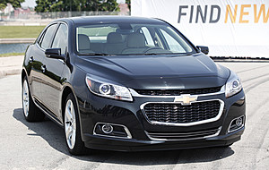 General Motors Introduces Redesigned Chevy Malibu